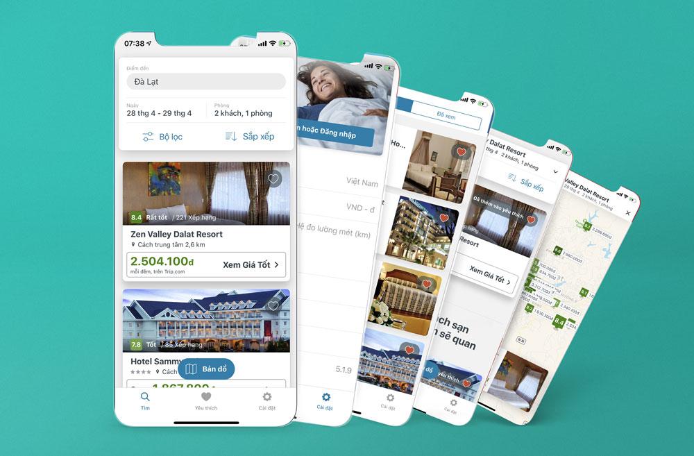 trivago: Tìm phòng khách sạn & tiết kiệm tiền