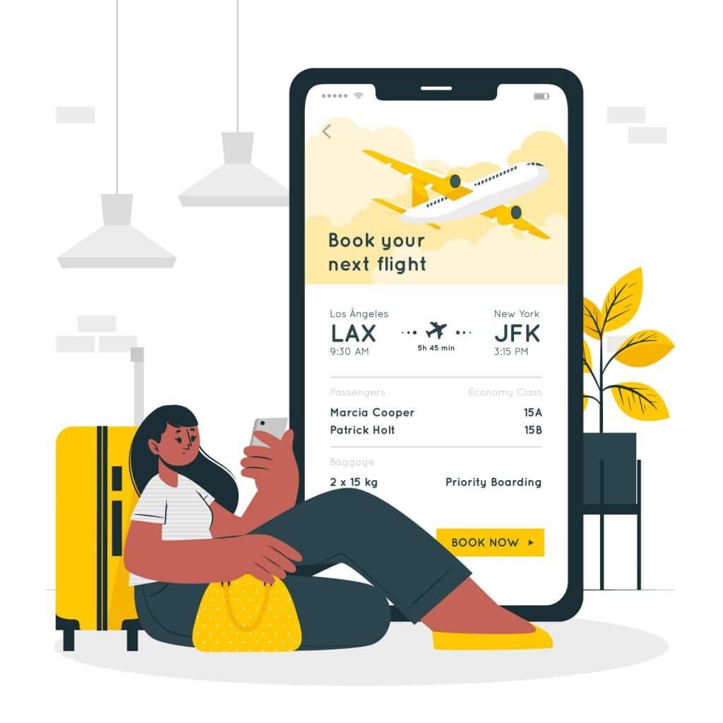 Thiết kế app vé máy bay tiện lợi cho mọi du khách trong năm 2020