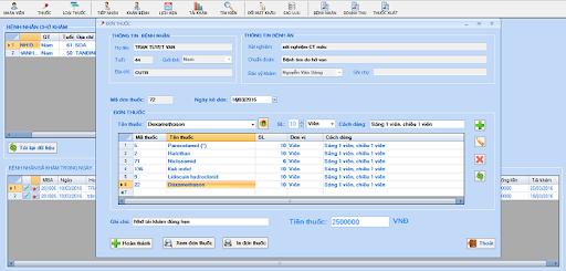 Phần mềm quản lý phòng khám tư nhân Clinics